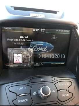 Mapa Sync C6 para Ford