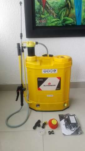 """Fumigadora Alterman 16 Lts Bateria/Manual  """"Negociables buen precio"""""""