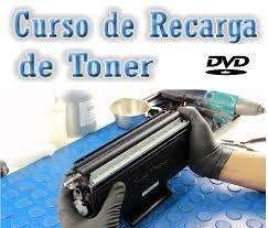 Curso o Taller recarga de cartuchos toner y tinta b/n y color instalacion de sistemas continuos hp canon epson