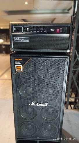 Vendo Cabina Marshall MBC 810 para Bajo