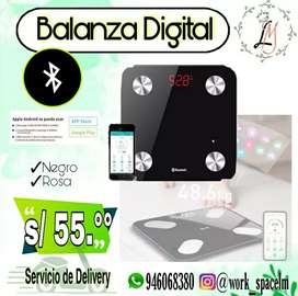 Balanza Digital con Bluetooth