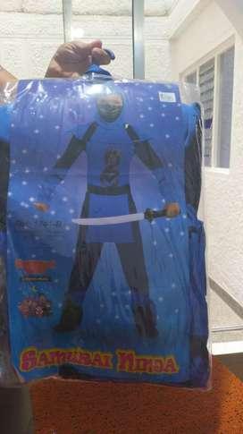Disfraz de ninja talla 10