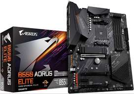 Motherboard Gigabyte  B550 Elite Aorus placa base board gamer