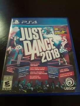 Just dance 2018 , fisico