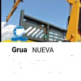 VENDO GRUA Nueva