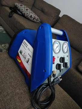 Recuperador de refrigerante Spartsnet 3/4 HP. Transportable. Liviano y eficiente.