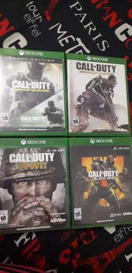 Remato coleccion call of duty  xbox one