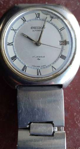 Reloj Seiko automatic 17 jewels Stainless Steel 7005 8150 Water Resistant