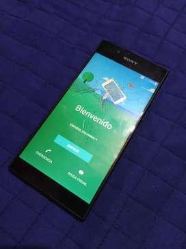 Celular Sony Xperia l1, cristal roto, pantalla y touch funcinales
