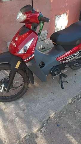 Es una moto nueva no que hacerle nada