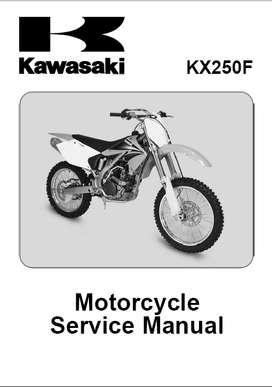 KAWASAKI KX250F  2004 MANUAL DE TALLER