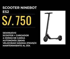 Scooters Ninebot ES2 y ES4