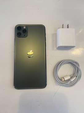 Iphone 11 pro max 256g verde