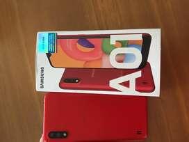 Samsung Galaxy A01, como nuevo 3 semanas de uso, estado 10/10