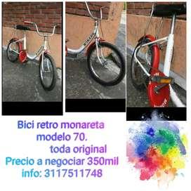 Vendo bicicleta monareta