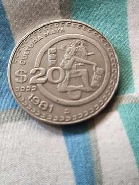 Moneda antigua de México