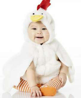 Disfraz de pollo carters talla 12 meses