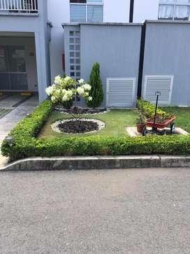 Alquilo Casa como nueva en Condominio 5 soles conjunto Sol del Campo - Jamundi