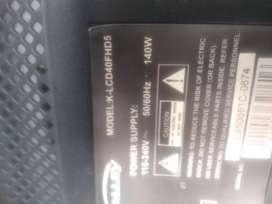 LCD Kalley de 40 para repuestos