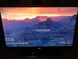 Tv Samsung 40 pulgadas led Full Hd con base y control