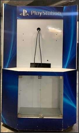 Vitrina Mueble Exhibidor De Video Juego Playstation Usado