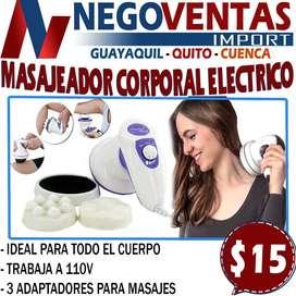 MASAJEADOR CORPORAL ELECTRICO EN DESCUENTO EXCLUSIVO DE NEGOVENTAS