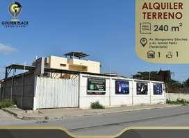 Terreno de Alquiler adecuado para Taller, Zona Norte de Machala, Ferroviaria