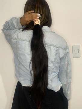 Hermosas extensiones de cabello