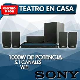 Teatro Cine En Casa Sony 3d Bluray 3d Wifi Smart Bdve2100