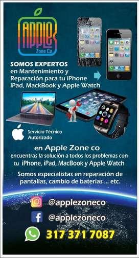 Servicio tecnico iphone apple macbook imac ipad apple watch
