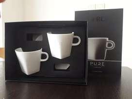 Set De Tazas Nespresso Pure Lungo.