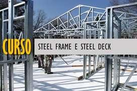 Curso de Steel Frame e steel deck