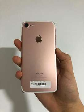 iPhone 7 128 GB ROSE GOLD. SEIS MESES DE GARANTIA
