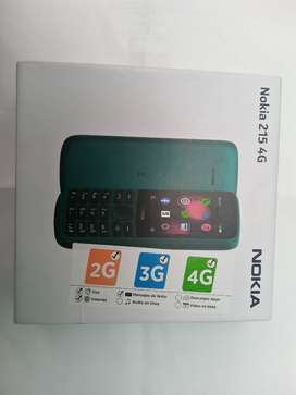 Nokia 215 4G COMPLETAMENTE NUEVO