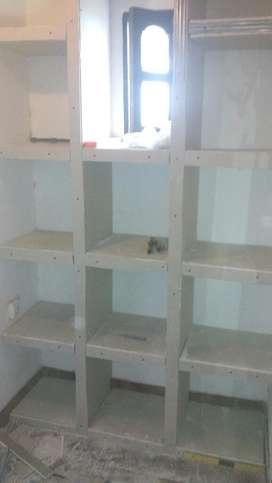 Muebles,cilorrasos,tabique de Durlock