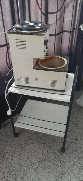 Maquina de depilación con cera con mesa de regalo!