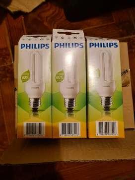 Vendo focos luz calida bajo consumo