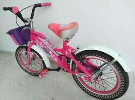 Hermosa Bici para niña.