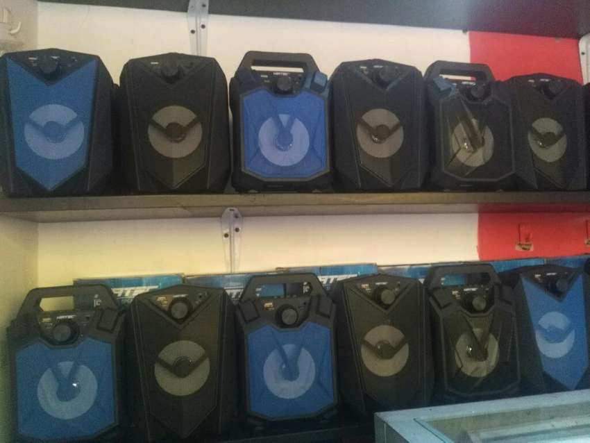 Parlante Recargable Usb ,fm Y Bluetooth 0