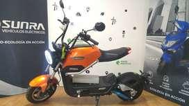 Moto electrica Sunra Miku Max Litio / Modo Electrico / Ahora 12