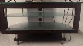 Mesa para tv de vidrio