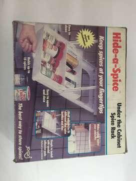 almacenador de especias para tu hogar