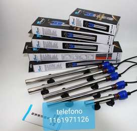 Calentador calefactor 100 w marca shanda acero inox.hasta 100 litros