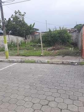 Terreno en la cuidad de Esmeraldas sector la propicia, medidas 12 x 19 mts, papeles en regla y unico dueño