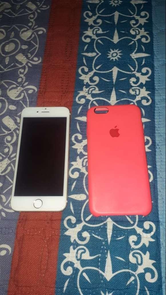 Vendo IPhone 6 dorado 0