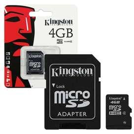 Memoria Kingston Micro SD 4GB