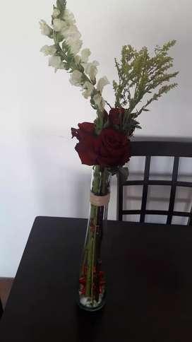 florero para el dia d la madre