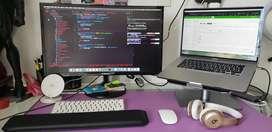 Servicio de mantenimiento y reparación de computadoras, laptops
