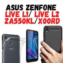 FUNDAS FORROS ESTUCHES ASUS ZENFONE LIVE L1 / LIVE L2