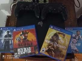 PlayStation 4 pro 1 Tera